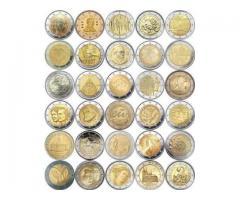 Памятные монеты 2 евро (2 euro)