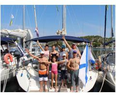 Попутчики на яхтенный отдых в Хорватии в июне 2017 г